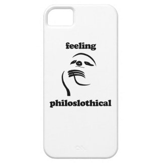 Feeling Philoslothical iPhone 5 Cases