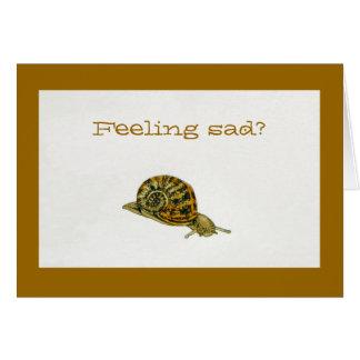"""Feeling Sad?"" Greeting Card"