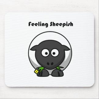 Feeling Sheepish Lamb Cartoon Mouse Pads