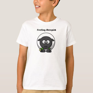 Feeling Sheepish Lamb Cartoon T-Shirt