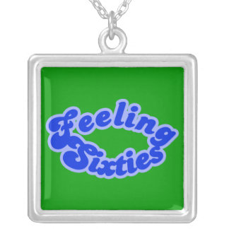 Feeling Sixties Text Necklace