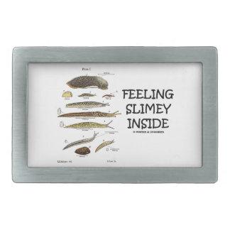 Feeling Slimey Inside (Slugs) Belt Buckles