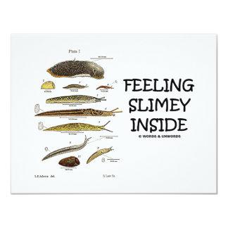 Feeling Slimey Inside (Slugs) Card