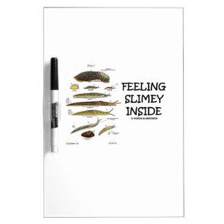 Feeling Slimey Inside (Slugs) Dry-Erase Whiteboard