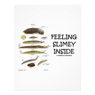 Feeling Slimey Inside (Slugs) Letterhead