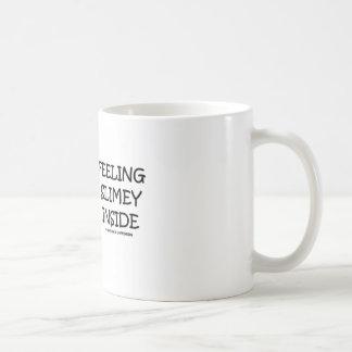 Feeling Slimey Inside (Slugs) Classic White Coffee Mug
