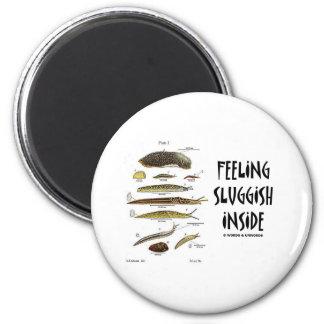 Feeling Sluggish Inside (Slugs) Magnet