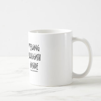Feeling Sluggish Inside (Slugs) Classic White Coffee Mug
