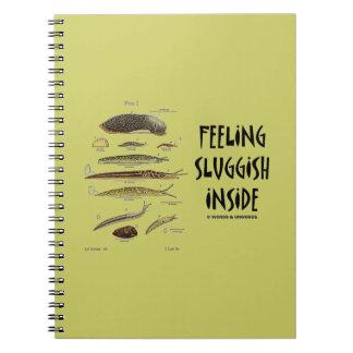 Feeling Sluggish Inside (Slugs Naturalist) Note Book
