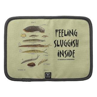 Feeling Sluggish Inside (Slugs Naturalist) Folio Planner