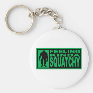Feeling Squatchy Gear - Finding Bigfoot Basic Round Button Keychain
