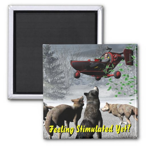 Feeling Stimulated Yet? 2 Inch Square Magnet