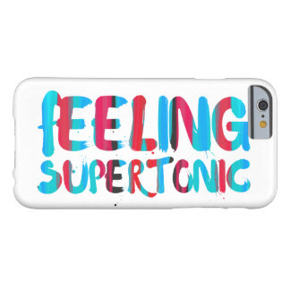 Feeling supertonic music theory geek pun barely there iPhone 6 case