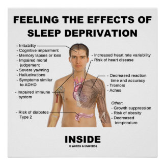Feeling The Effects Of Sleep Deprivation Inside Posters