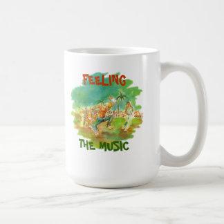 FEELING THE MUSIC CLASSIC WHITE COFFEE MUG