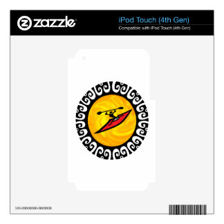 FEELING THE RUSH DECAL FOR iPod TOUCH 4G