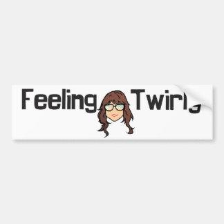 Feeling Twirly sticker