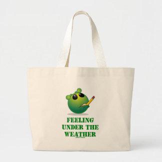 Feeling Under The Weather (Green Alien Attitude) Bag