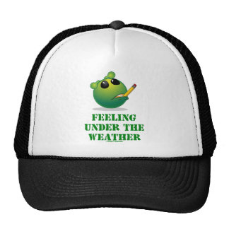 Feeling Under The Weather (Green Alien Attitude) Hat