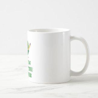 Feeling Under The Weather (Green Alien Attitude) Coffee Mug