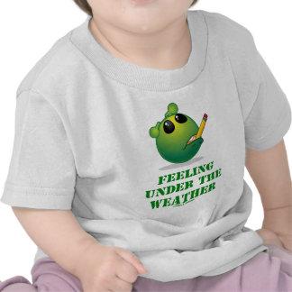 Feeling Under The Weather (Green Alien Attitude) Tshirt