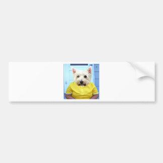 Feeling Yellow Bumper Sticker