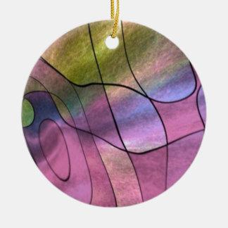 feelings abstract christmas ornament
