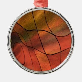 feelings abstract red ornament