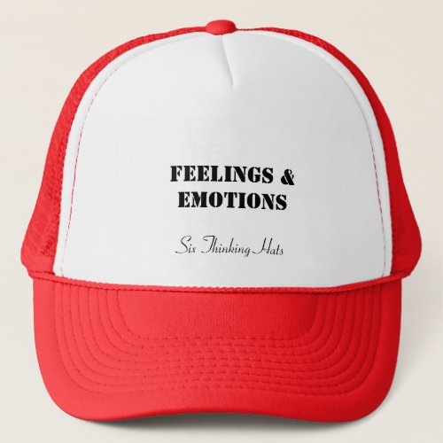 Feelings  Emotions Six Thinking Hats