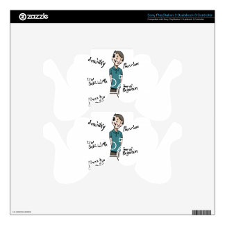 Feelings of Inadequacy PS3 Controller Skins