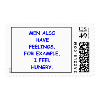 feelings postage stamps