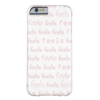 Feels iphone case (Pink letter version)