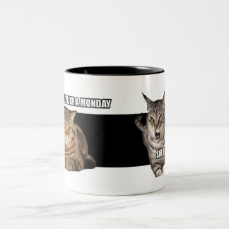 Feels Like a Monday Cats Talking - Mug