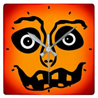 Feels Like Halloween Wall Clock by Julie Everhart