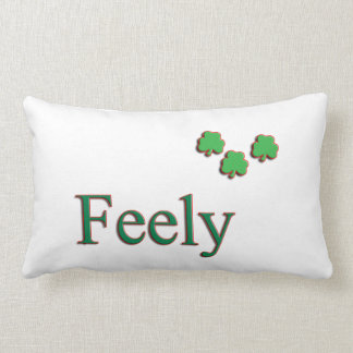 Feely Family Irish Pillow