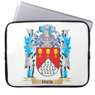 Feen Coat of Arms - Family Crest Computer Sleeve