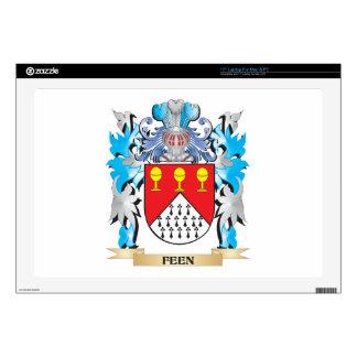 Feen Coat of Arms - Family Crest Laptop Skins