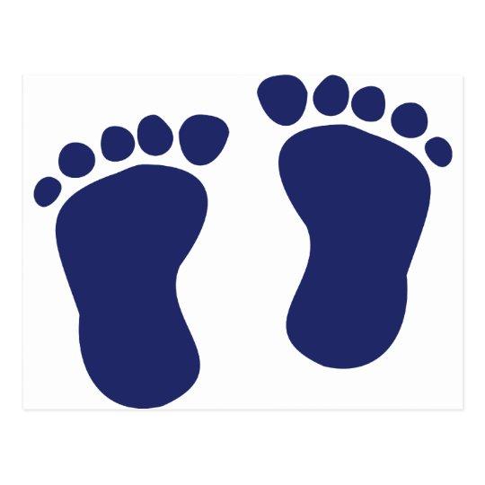Feet - Baby Postcard