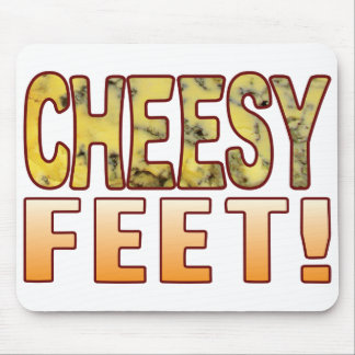 Feet Blue Cheese Mouse Pad