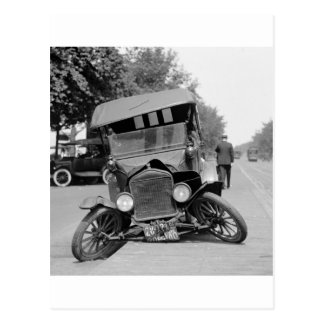 Feet extendido, 1922 postales