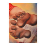 Feet Gallery Wrap Canvas