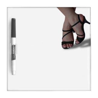Feet in Sandals Whiteboard
