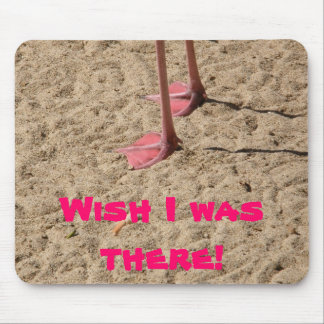 feet in the sand mouse pad