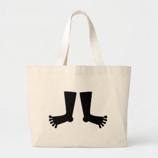 Feet Jumbo Tote Bag