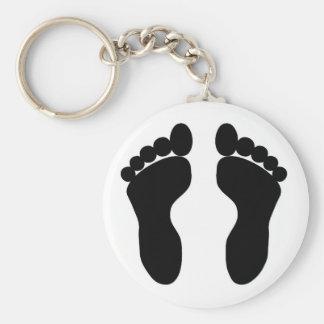 feet key chain