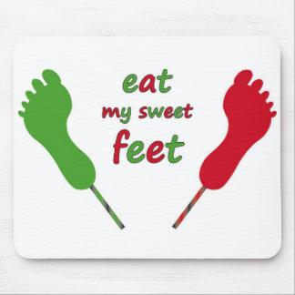 feet lollies mousepad
