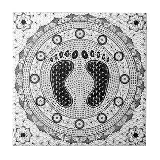 Feet Mandala Tiles