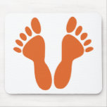 Feet Mouse Pad