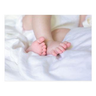 feet OF A baby Postcard