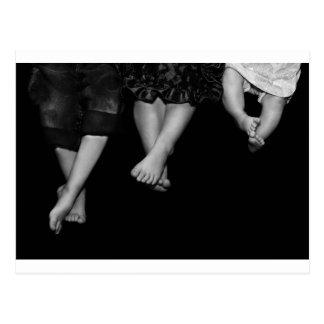feet postcard